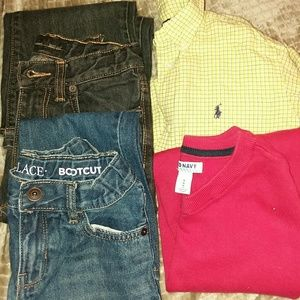 Boys size 7 outfit mixes (4 items)